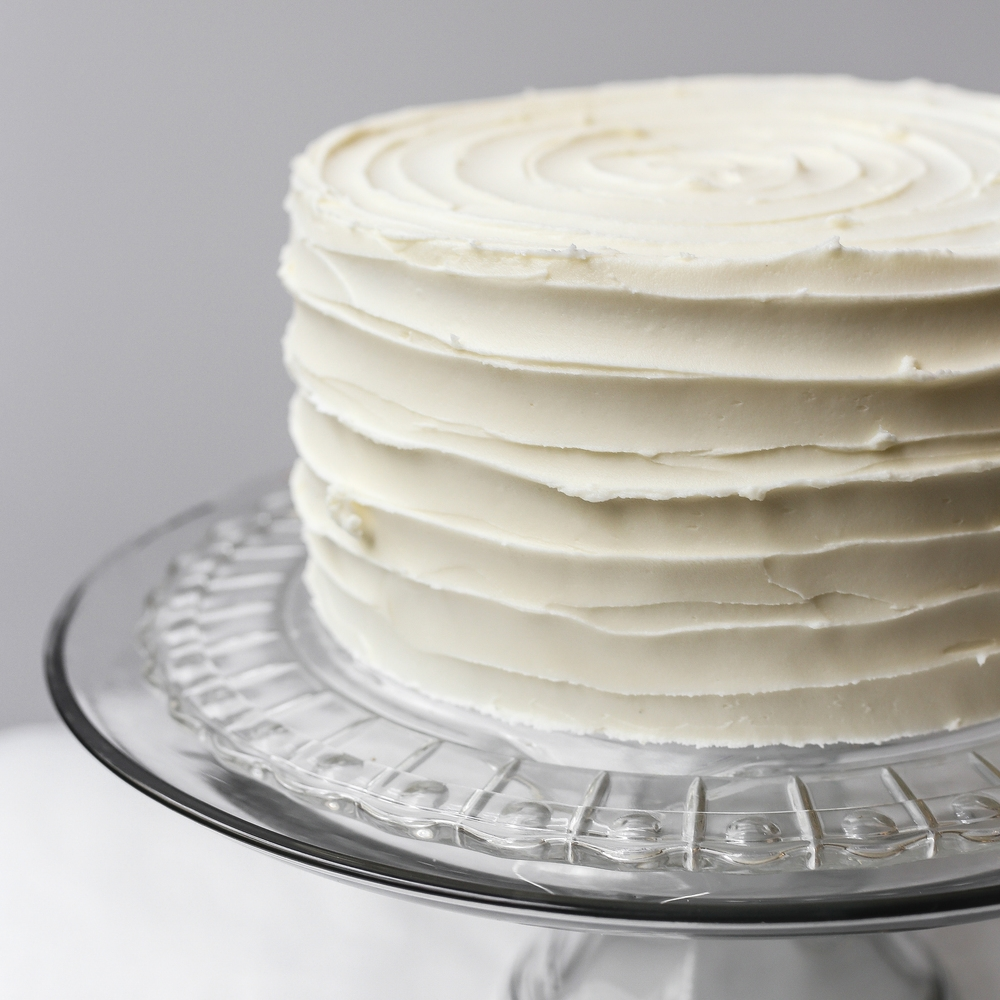 Vanilla & Chocolate Cake   9"
