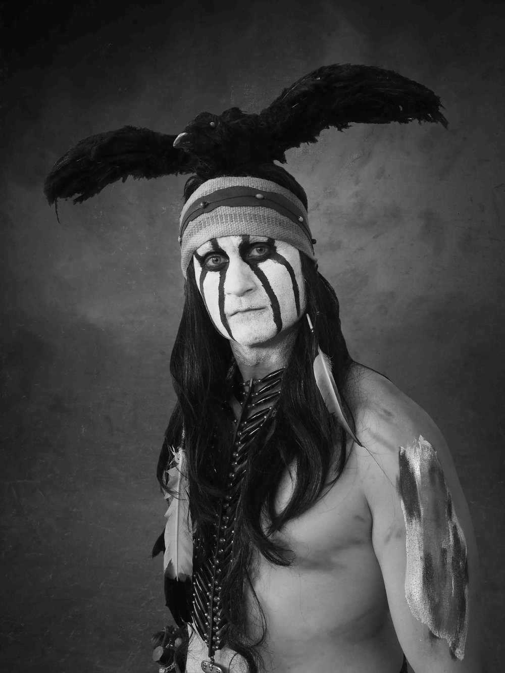 Tonto - Inspired from Lone Ranger -Johnny Depp CharacterizationA Native American of Potawatomi Nationand companion to the Lone Ranger.COSPLAY BY | Roy