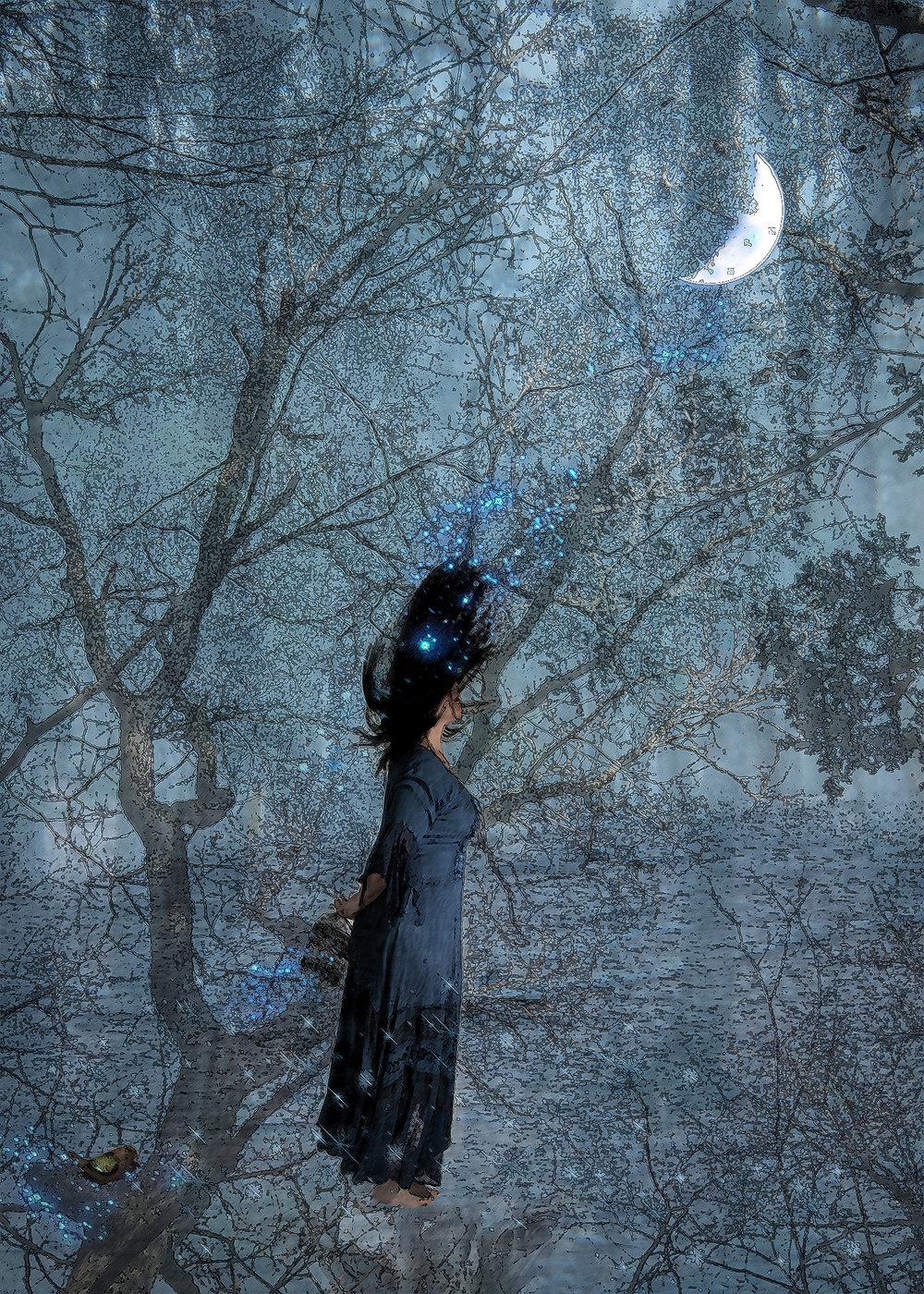 Moon Gurl - MODEL | Self-ScrutinyThe 2k16 National Latin American BiennialThe Loisaida GalleryNew York, NY November 2k16