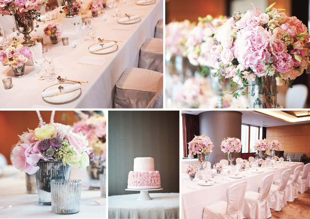 Romantic Pink Birthday Party