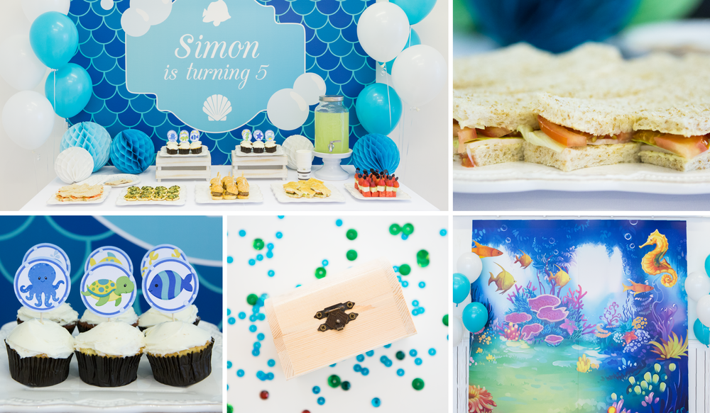 under the sea party sweet soirees boutique party planner
