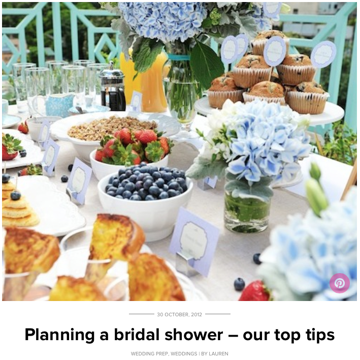 Sassy Bridal Shower Party Guide, October 2012 Cover.png