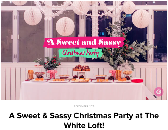 Sweet and Sassy Christmas Party, December 2015 Cover.png