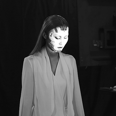 Projection Mapped Makeup