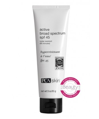 This revolutionary formulation provides water-resistant broad spectrum protection with a light finish. The blend of UVA/UVB protecting sunscreen agents, including ultra-sheer zinc oxide, provides sun-shielding benefits. Tested to protect for 80 minutes in water, it is the perfect choice for an outdoor lifestyle. It also contains the important antioxidants silybin, also known as milk thistle, and caffeine.