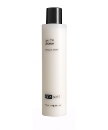 This gentle 5% benzoyl peroxide cleanser penetrates pores to eliminate existing and prevent future acne breakouts. Formulated with the antioxidant poly hydroxy acid (PHA) gluconolactone that provides gentle exfoliation of surface cell buildup. This formulation also contains a host of botanical extracts to soothe breakout-prone skin.