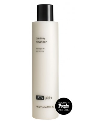 This gentle, hydrating cleanser effectively removes dirt and makeup without stripping the skin of its essential moisture. It contains a nourishing blend of rose hip seed oil, aloe and amino acids to help create radiant and younger-looking skin.