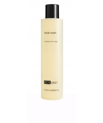 This gentle lactic acid formulation includes a novel cleansing blend that effectively removes environmental impurities and makeup while leaving the skin hydrated, soothed and pH balanced. Recommended for normal skin on the face and body.