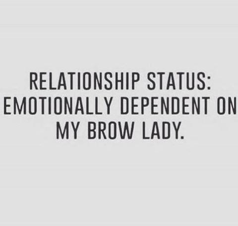 We totally understand #thebeautylougneatblanco #eyebrowwax #brows #eyebrowsonfleek #browrehab #wearebasicallytherapists #beauty #spa