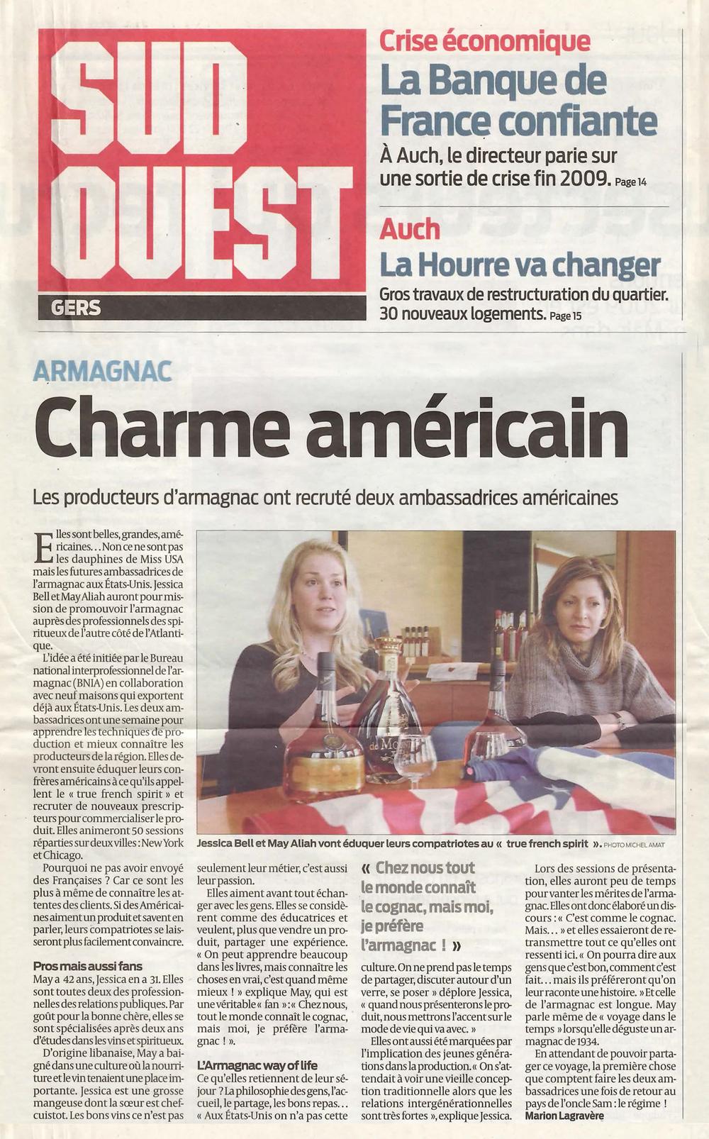 Armagnac: Charme Americain -
