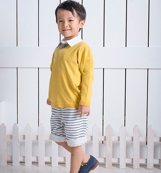 Polo shirt with v-neck sweater from SS2017 collection -perfectly stylish for fall #ss2017kids #coolkids #coolboysclothing #coolboysclothing #childrensbiutique #kidswear #barquekids #barquenewyork