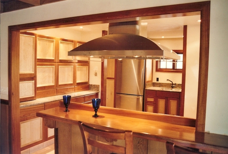 Kitchen with Jatoba and Maple