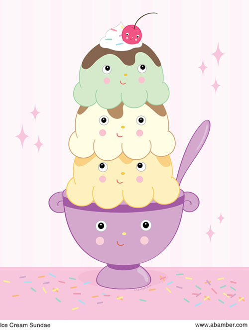 ABamber_Kids_Room_Ice_Cream_Illustration_Print