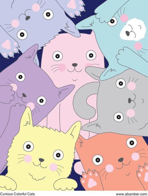 ABamber_Cat_Pattern