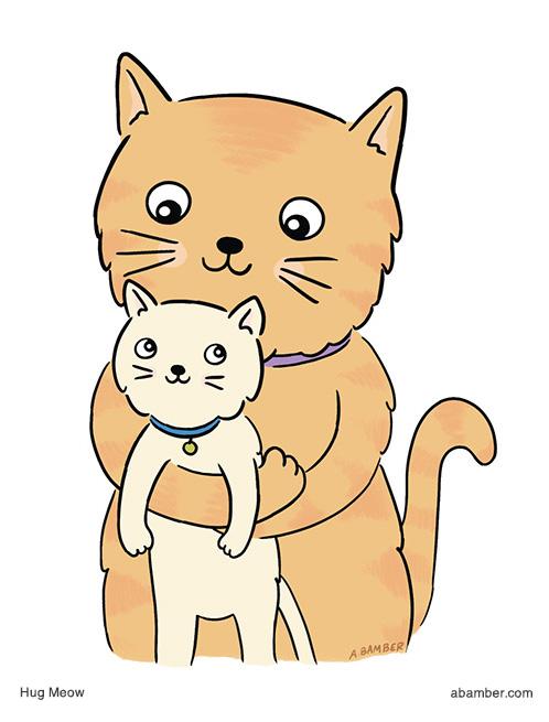 Adrianna_Bamber_Cute_Cat_Illustration
