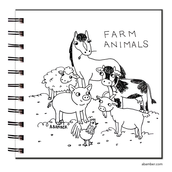 ABamber_Inktober_Sketchbook_farm_animals.jpg