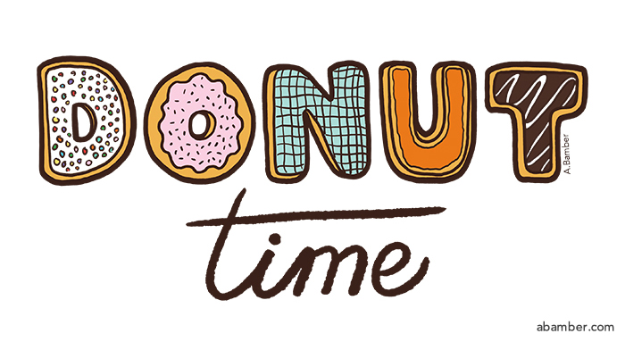 ABamber_Lettering_Donut Time.jpg