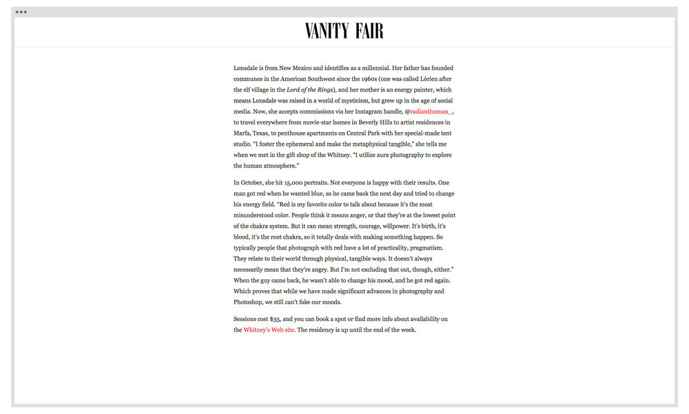 Copy of Vanity Fair