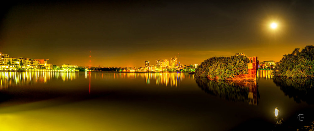 2015 - Epson International Pano Awards  Bronze Award  Shipwreck of Homebush Bay