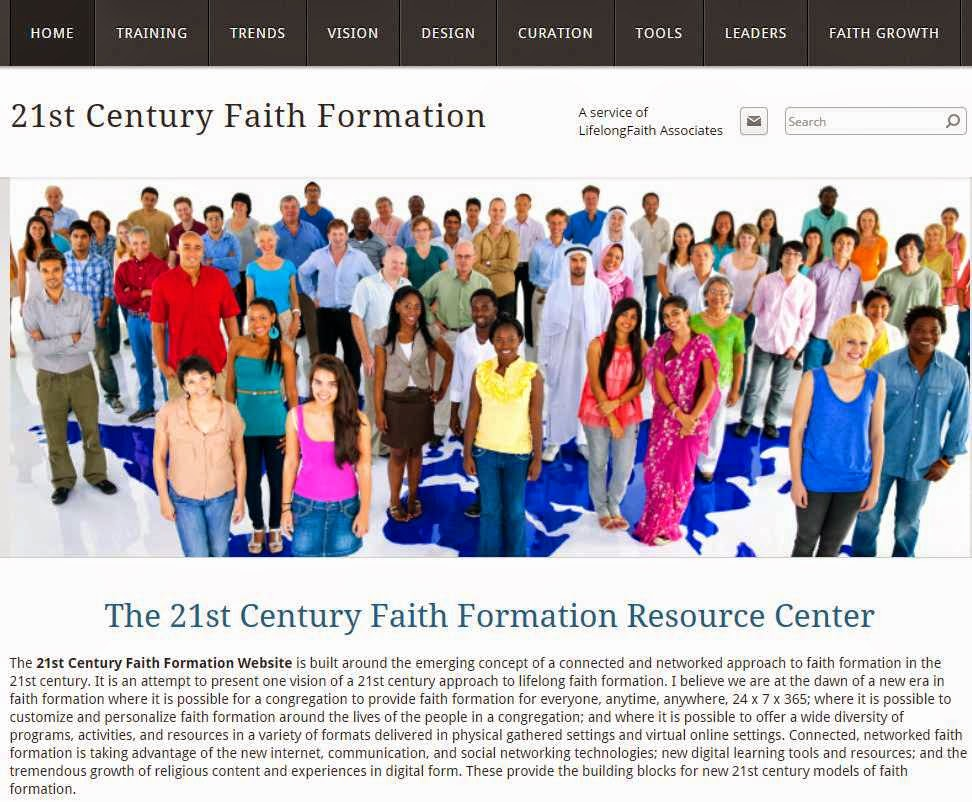 """A connected and networked approach to faith formation."""