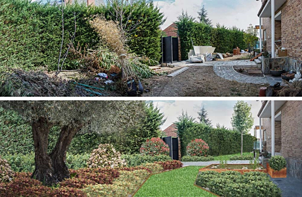Compruebe como puede quedar su jardin
