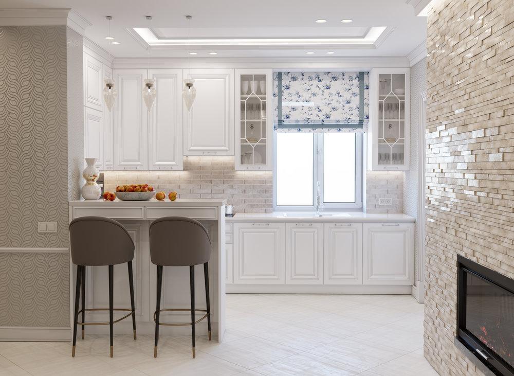 Загородный дом в классическом стиле - Дизайн интерьера загородного дома, в классическом стиле. Площадь дома - 170 кв.м.г. Белая Цервовь