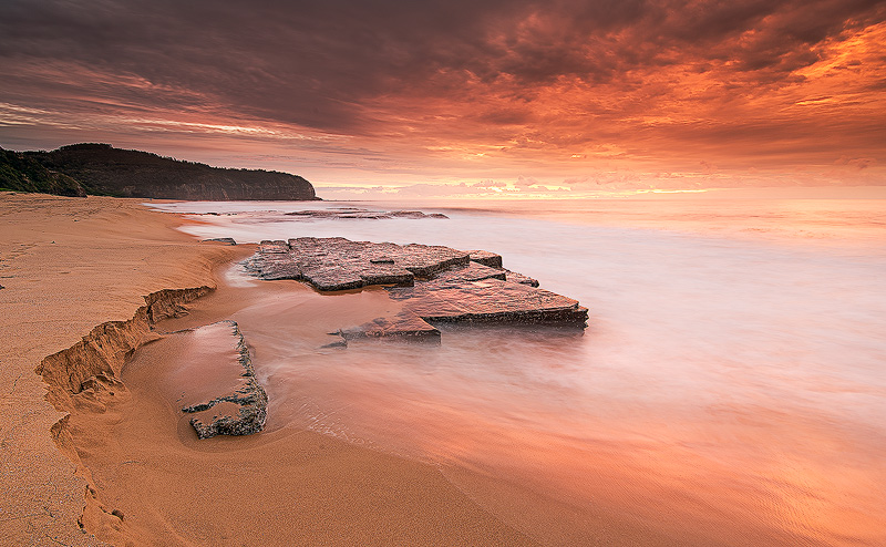 Turimetta North view sunrise