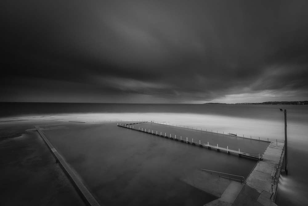 Narrabeen Pool  Click on lightbox for best view