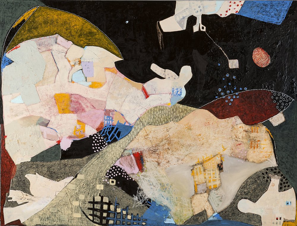 Untitled 143  Oil on canvas  210 x 160cm (s)  83 x 62 x 1 inch