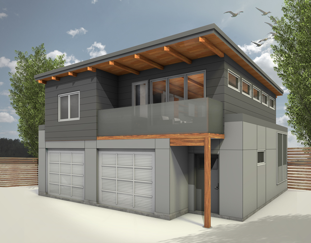 Projects laneway suites for Garage suite