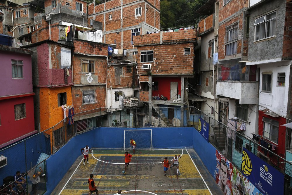 """Why would we select at the youngest ages and train young children? The favelas and pick up games in and around every Brazilian city already does the job for us""."