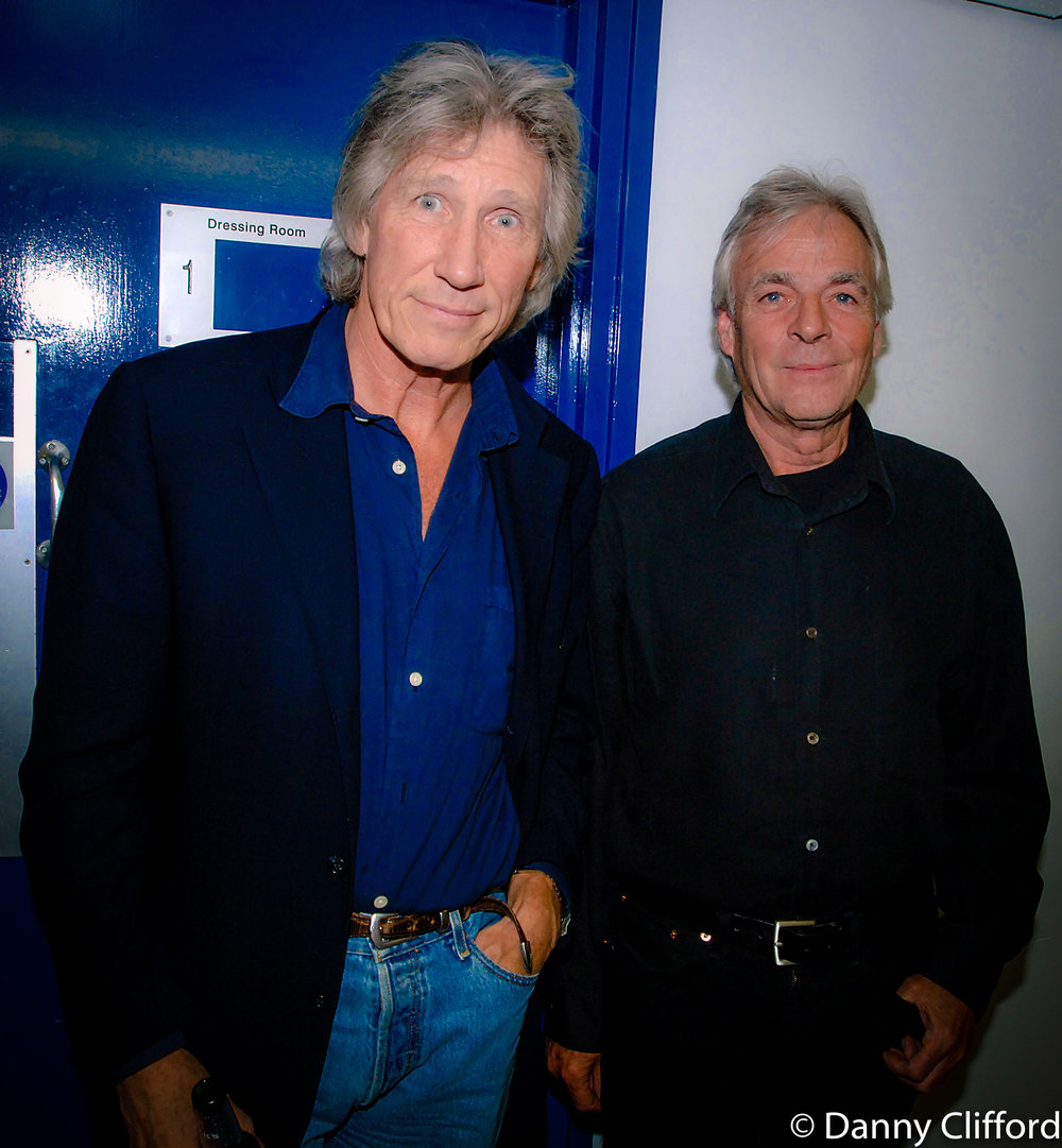 Backstage, Syd Barrett tribute concert.