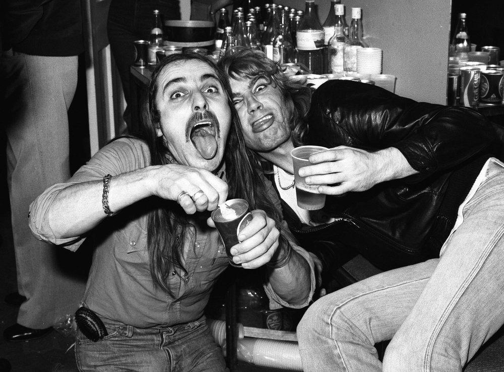 John Coghlan & Rick Parfitt, 1977
