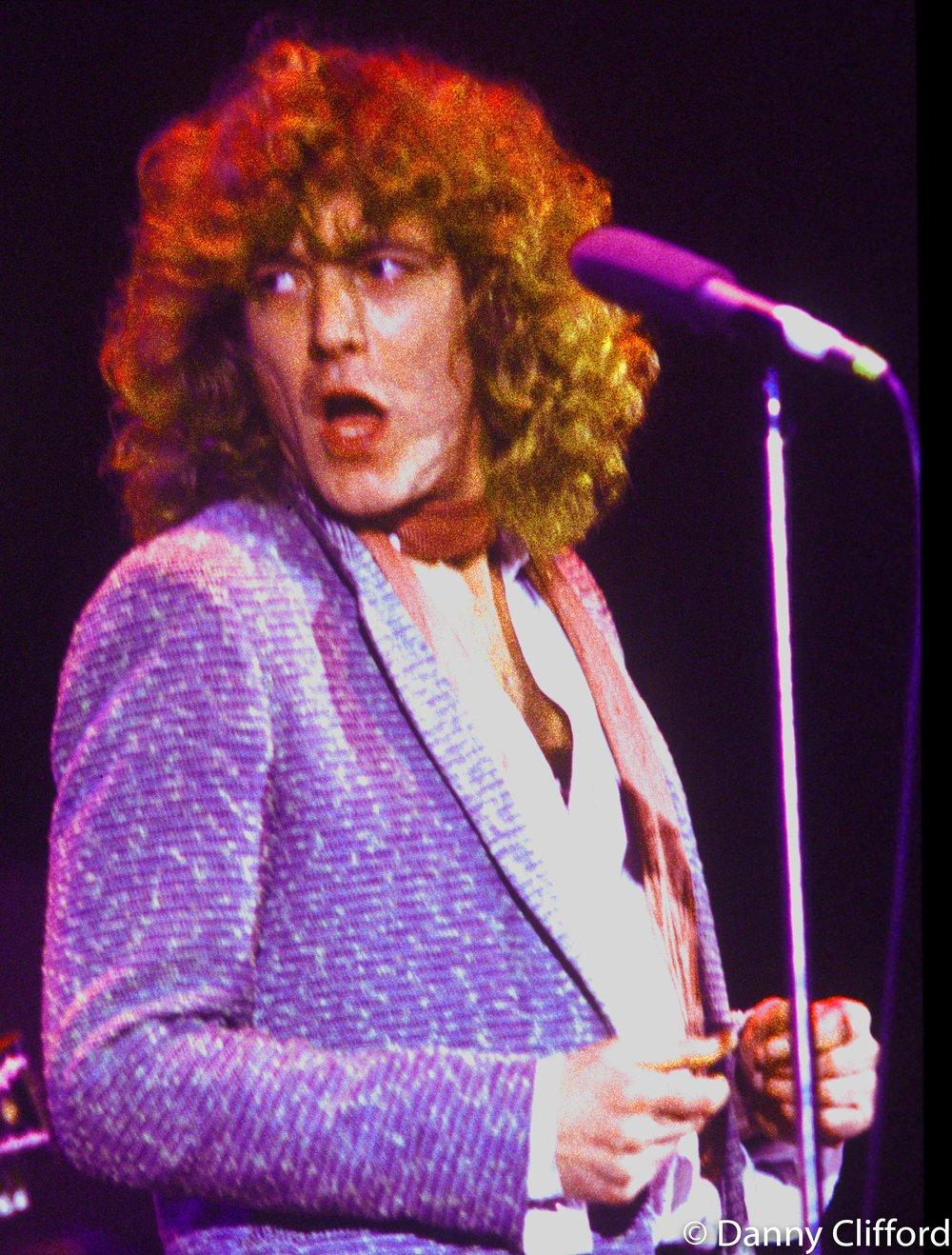 Robert Plant London 1970's