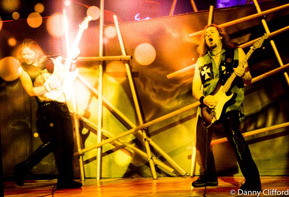 Dave Murray & Adrian Smith (Stunning guitarists)
