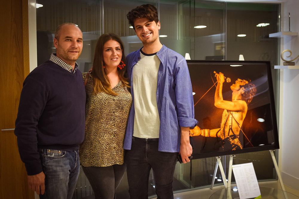 Karl, Sarah & Sam (Oh and Freddie)