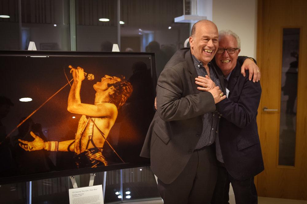 Me and Bob Young