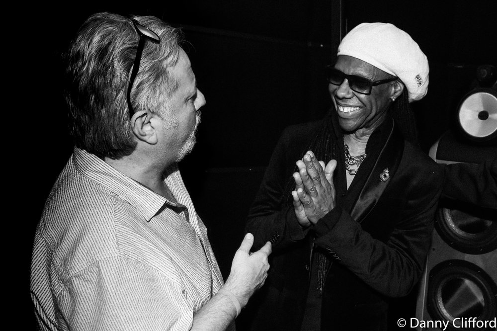Andy Wright & Nile Rodgers.