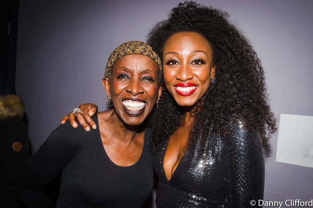 Madeline Bell & Beverley Knight Backstage after the show.