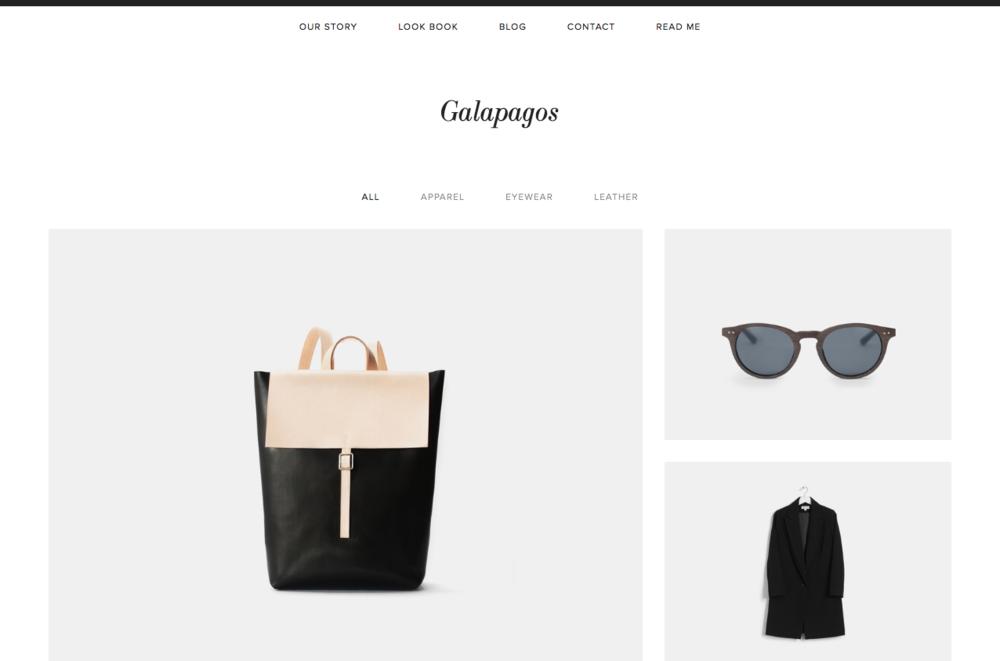 galapagos-squarespace-template