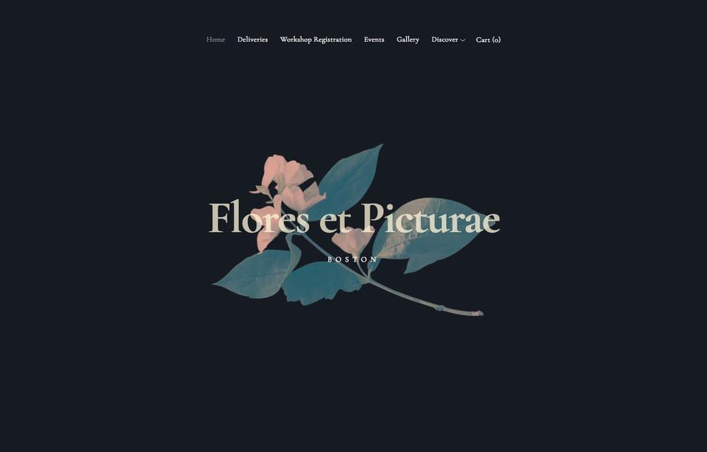 flores-squarespace-template
