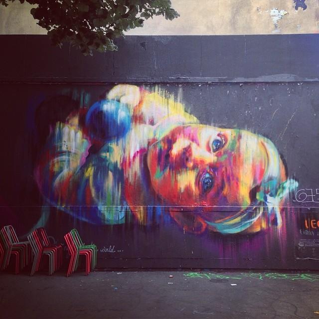 #Paris #StreetArt #LeMur