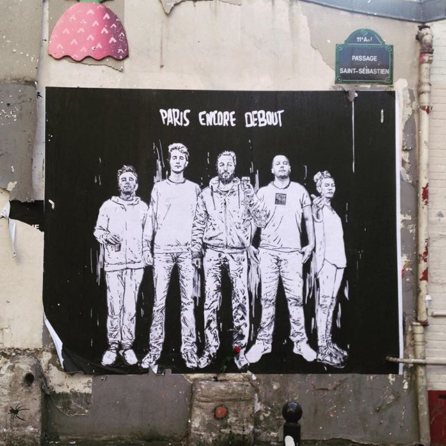 Paris still standing #fluctuatnecmergitur #paris #streetart #sprayforparis
