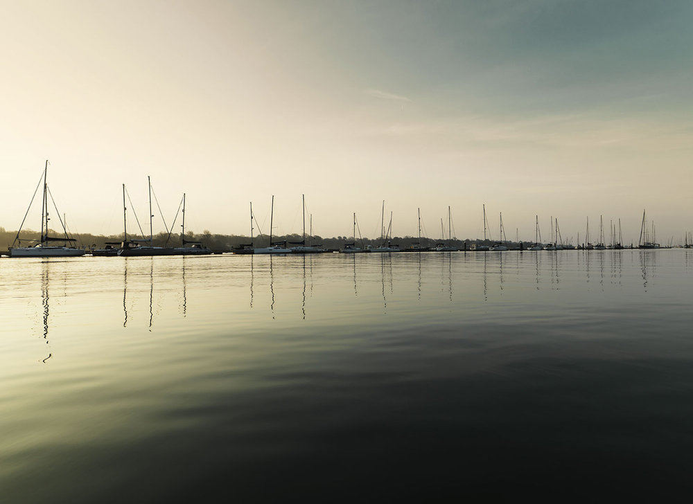 River Hamble at dawn