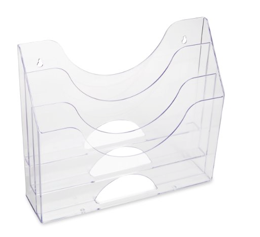3-Pocket Acrylic Organizer