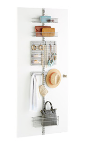 Utility Closet Door & Wall Rack Solution