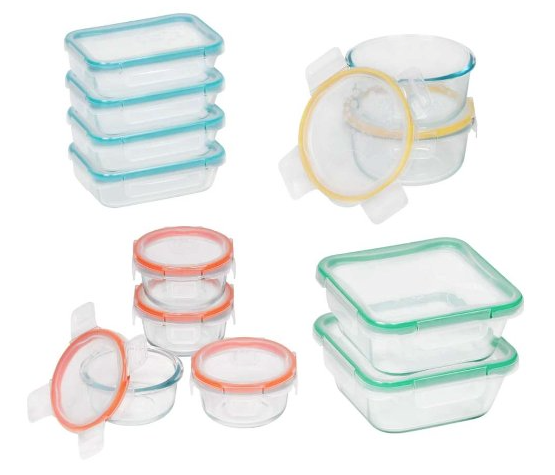 Snapware Glass Storage Solution