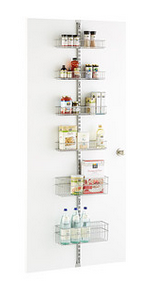 Utility Pantry Door & Wall Rack Solution