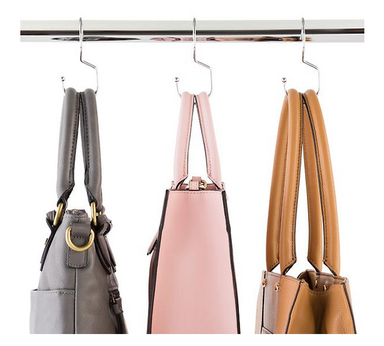 Chrome Metal Tote Hanger