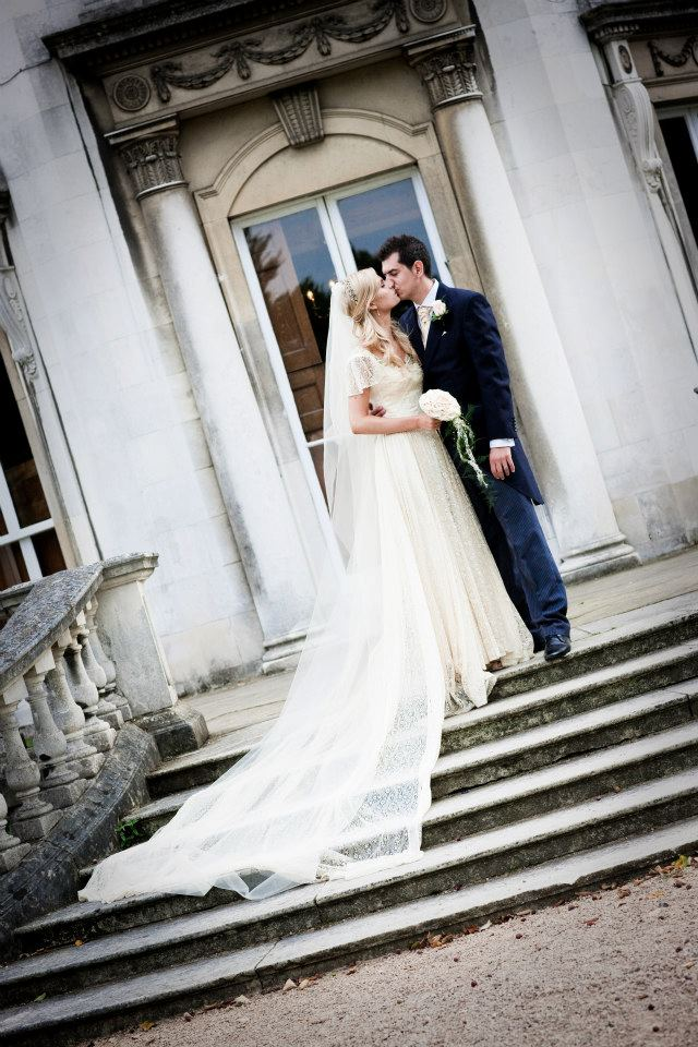 """I bought my 1940s lace wedding dress from you over a year ago and absolutely loved wearing it on my day. It was my perfect dress and I had amazing comments from guests, family and of course my husband! The whole experience at your showroom was magical as I have always loved vintage fashion"" - Hannah Robinson"